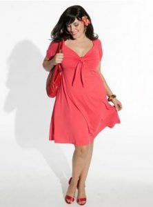 13 Hermosos vestidos de color para gorditas (2)