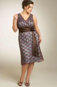 Galería de imágenes con 13 vestidos para gorditas (4)