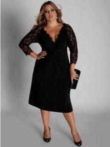 13 Hermosos vestidos de fiesta en talles XL (10)