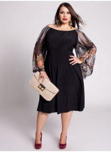 13 Hermosos vestidos de fiesta en talles XL (12)