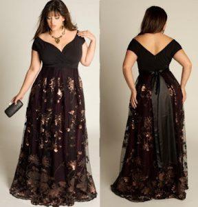 13 Hermosos vestidos de fiesta en talles XL (13)