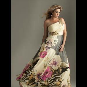 13 Hermosos vestidos de fiesta en talles XL (2)