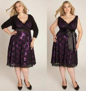 13 Hermosos vestidos de fiesta en talles XL (6)