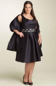 12 Bonitos vestidos de fiesta para gorditas corte imperio (14)