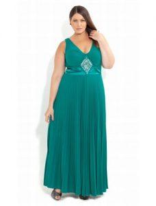 12 Bonitos vestidos de fiesta para gorditas corte imperio (6)