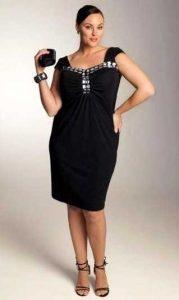 12 Vestidos de fiesta negros para mujeres gorditas (1)