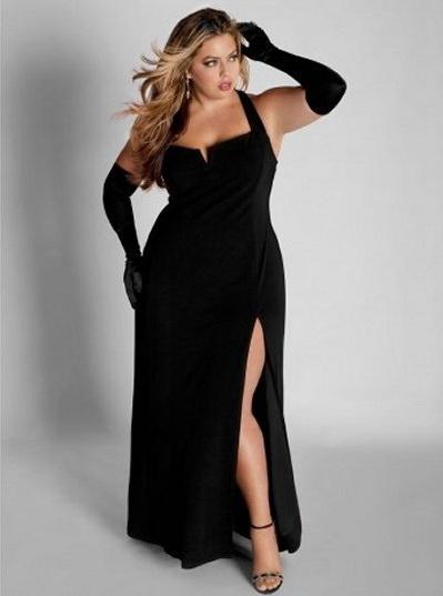 12 Vestidos De Fiesta Negros Para Mujeres Gorditas