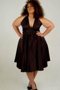 12 Vestidos de fiesta negros para mujeres gorditas (2)