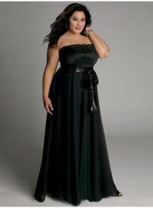12 Vestidos de fiesta negros para mujeres gorditas (3)