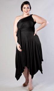 12 Vestidos de fiesta negros para mujeres gorditas (5)