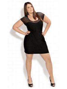 12 Vestidos de fiesta negros para mujeres gorditas (6)