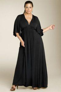 12 Vestidos de fiesta negros para mujeres gorditas (7)