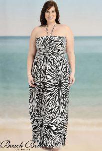 13 Vestidos de fiesta para gorditas en la playa (1)