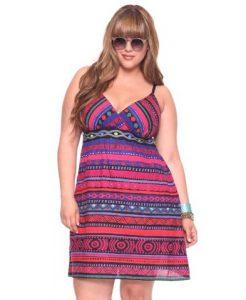 13 Vestidos de fiesta para gorditas en la playa (12)