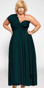 11 Bellos vestidos de fiesta para mujeres con panza (9)