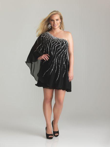 4828d69f18 ... 9 Vestidos de fiesta para gorditas tipo Chanel (7) ...