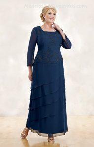10 Hermosos vestidos de gala para gorditas bajitas (5)