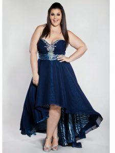 11 Bonitos vestidos de fiesta para gorditas para matrimonio (10)