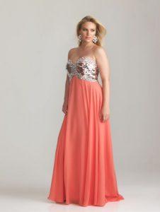 11 Bonitos vestidos de fiesta para gorditas para matrimonio (2)
