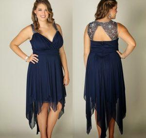 11 Bonitos vestidos de fiesta para gorditas para matrimonio (5)