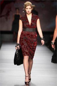 10 nuevos diseños de vestidos de fiesta para gorditas a media pierna (1)