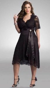 10 vestidos de fiesta para bodas gorditas (1)
