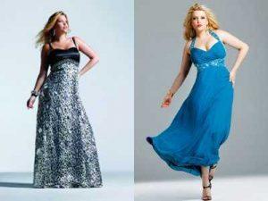 10 vestidos de fiesta para señoras gorditas de 60 años (3)