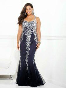 11 vestidos de fiesta para gorditas en imágenes (13)