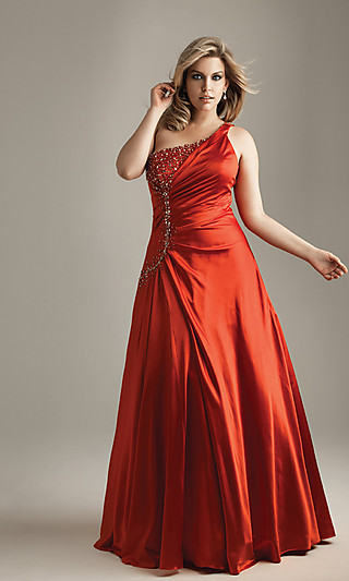 Modelos de vestidos de fiesta para mujeres gorditas