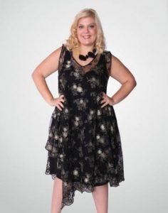 11 Modelos de vestidos brillantes para gorditas (10)