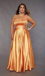 11 Modelos de vestidos brillantes para gorditas (2)