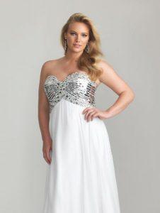 11 Modelos de vestidos brillantes para gorditas (4)