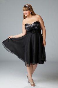 11 Modelos de vestidos brillantes para gorditas (7)