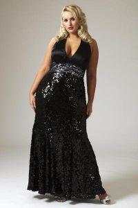 11 Modelos de vestidos brillantes para gorditas (9)