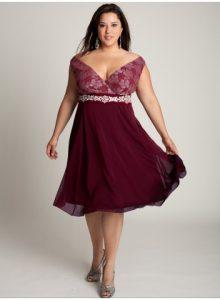 11 Modelos de vestidos de fiesta para mujeres gorditas y bajitas (7)