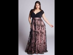 11 vestidos de fiesta para gorditas de noche (4)