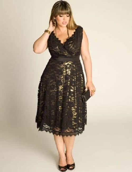 10 Nuevos Modelos De Vestidos Para Gorditas