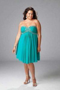 10 modelos de vestidos de fiesta para gorditas de graduación (6)