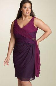 10 modelos de vestidos de fiesta para gorditas de graduación (8)