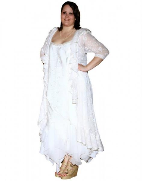 Vestidos de fiesta para gorditas once
