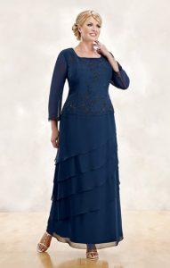 10 vestidos de fiesta para gorditas maduras (8)