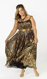 10 vestidos de fiesta brillantes para gorditas (4)