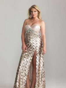 10 vestidos de fiesta brillantes para gorditas (6)