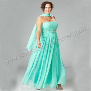 10 vestidos de fiesta para gorditas azul turquesa (1)