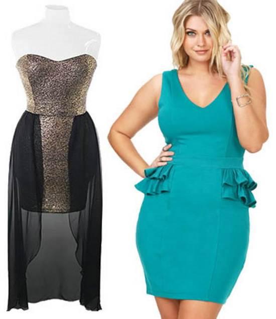 5b00a60aff Vestidos de fiesta para gorditas azul turquesa – Los vestidos de ...
