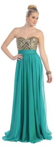 10 vestidos de fiesta para gorditas azul turquesa (8)