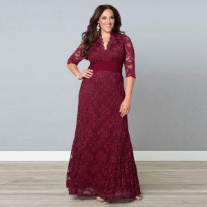 10 nuevos diseños de vestidos de fiesta para gorditas en Aliexpress (2)