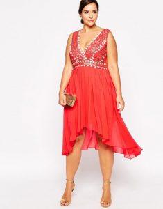 10 hermosos vestidos de fiesta brillantes para gorditas (9)