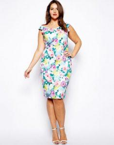 10 vestidos de fiesta para gorditas con flores (4)