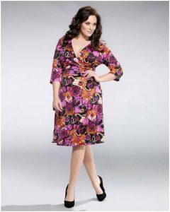 10 vestidos de fiesta para gorditas con flores (6)